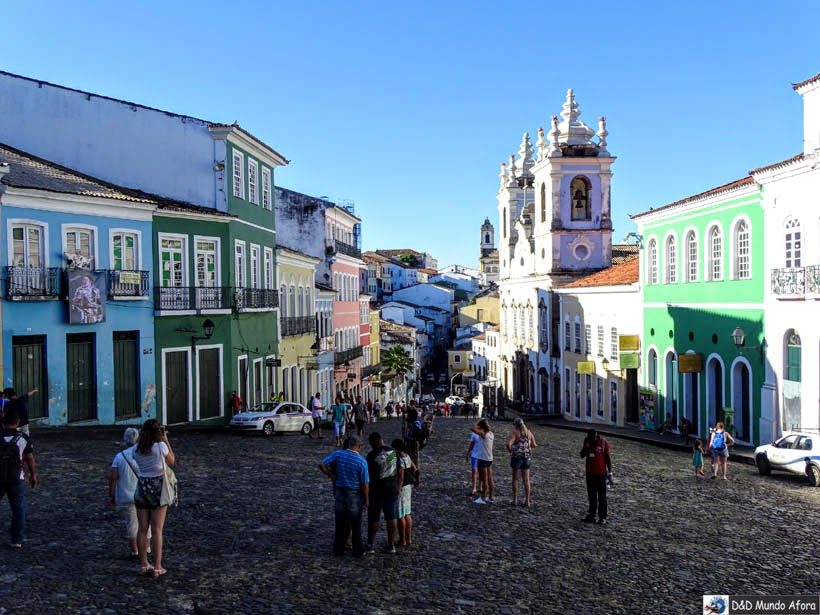 O que fazer em Salvador (Bahia) - Largo Pedro Arcanjo - Pelourinho