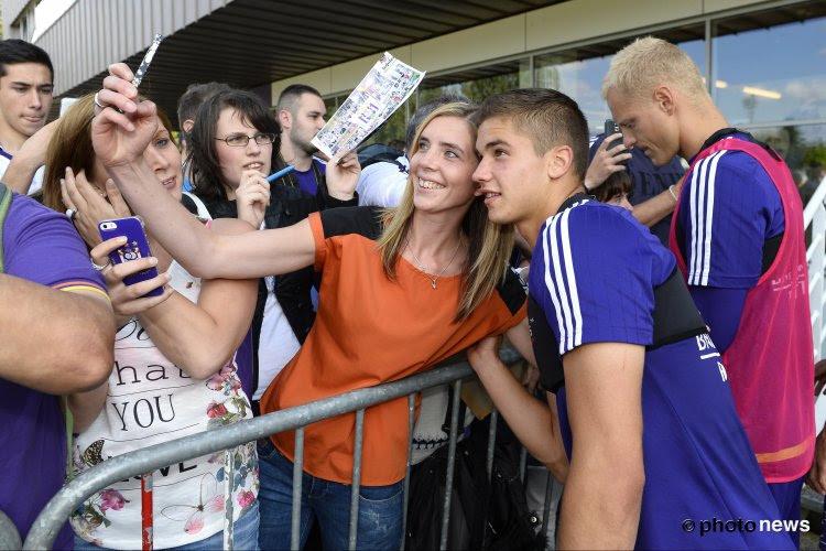 Les joueurs d'Anderlecht à la rencontre de leurs supporters (vidéo)