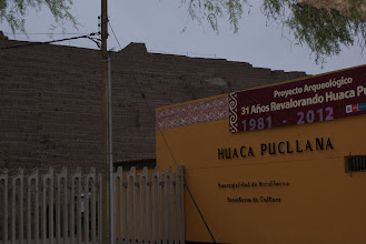 Photo: Huaca Pucllana is a pyrmid right in the city of Lima. It dates back long before the Incan Empire, between 200 and 700 AD, builty by the Wari people.
