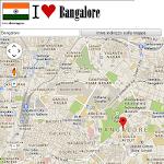Bangalore map Icon