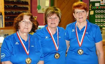 Photo: LM Trio Damen – 3. Platz: BC Ansfelden