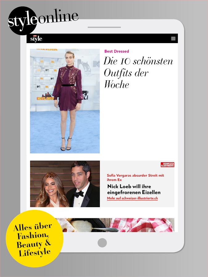 Style Magazin- screenshot