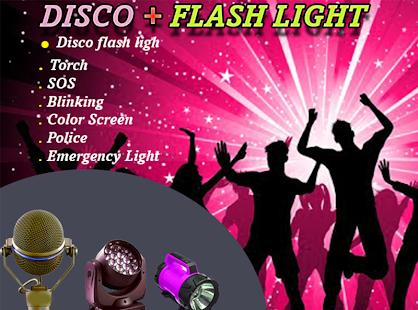 Disco Falsh Light (led flash light) - náhled