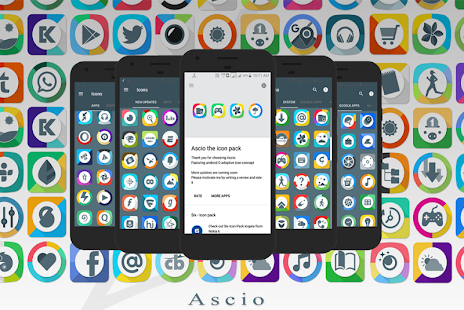 Ascio - Icon Pack Screenshot