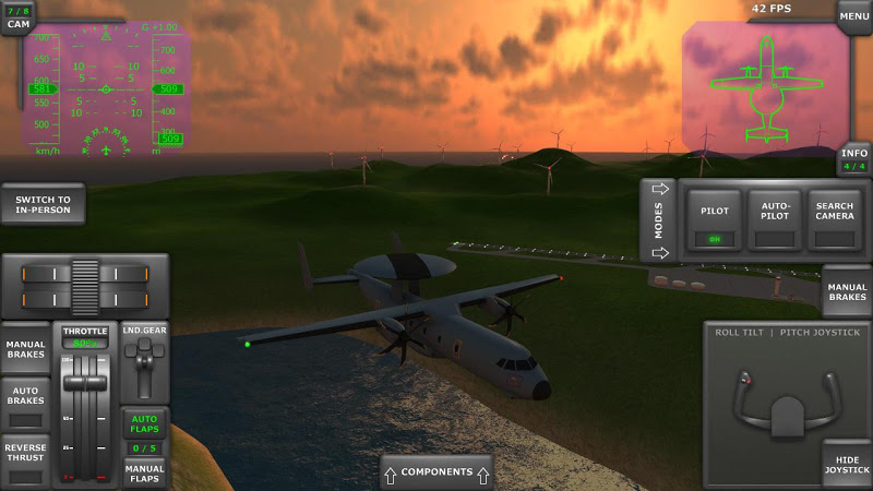 Turboprop Flight Simulator 3D Screenshot 5