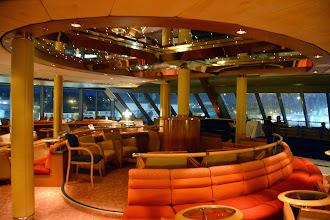 Photo: The deck 8 vista lounge - also on deck 9