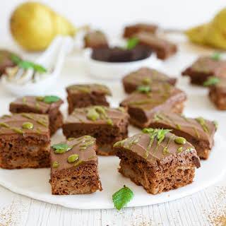 Pear & Chocolate Paleo Brownies (Dairy, Nut & Gluten FREE, AIP Reintro).