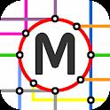Gauteng Rail Map icon