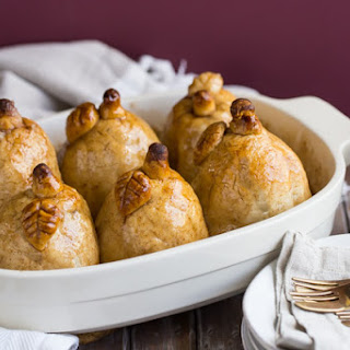 Cinnamon Pear Dumplings