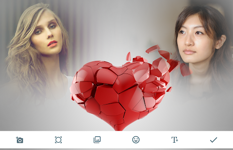 Broken Heart Photo Frames - Apps on Google Play