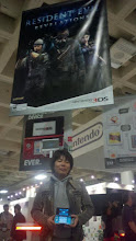 Photo: Masachika Kawata, one of the producers of Resident Evil: Revelations, came to visit us at the Nintendo Booth at GDC.