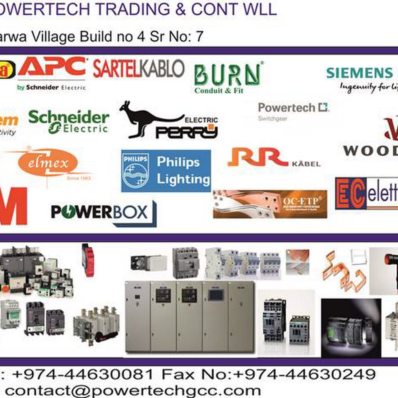 Powertech trading & cont wll - Electrical Sub-Station in Doha