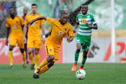 Bernard Parker of Kaizer Chiefs during the Absa Premiership match against Bloemfontein Celtic at Free State Stadium on August 20, 2017 in Bloemfontein, South Africa.