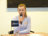Jolien D'hoore legt ondanks aankondiging van afscheid de nadruk op de koers