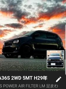 アルトワークス HA36S 2WD 5MT H29年のカスタム事例画像 dach Kさんの2018年12月01日12:56の投稿