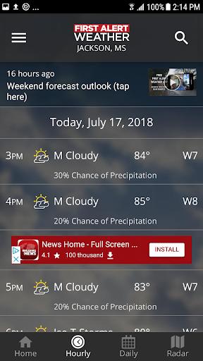 First Alert Weather screenshot 3