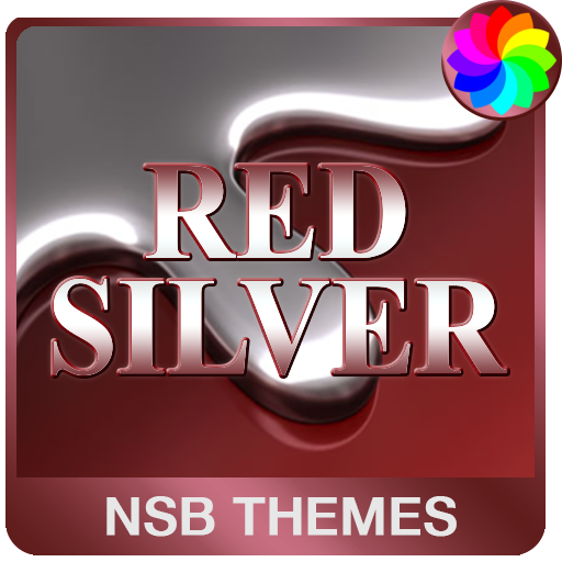 Red Silver Theme for Xperia