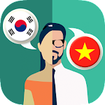 Korean-Vietnamese Translator Icon