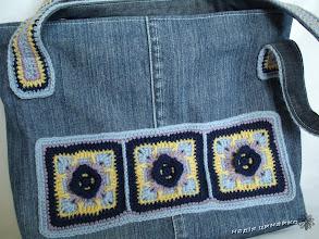 "Photo: Сумка ""blue jeans"""