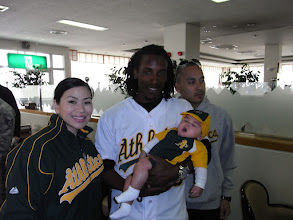 Photo: A's fan from birth ...