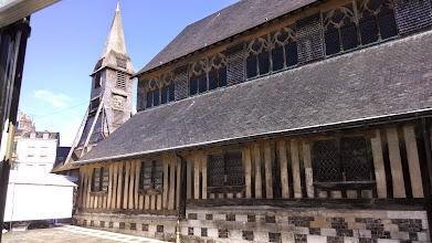 Photo: Wooden church