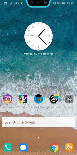 Notch & S10 Battery bar trial - Live wallpaper 6.3 screenshots 2