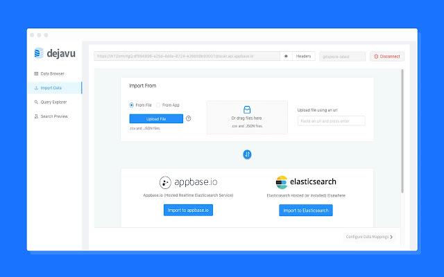 Dejavu: ElasticSearch Web UI