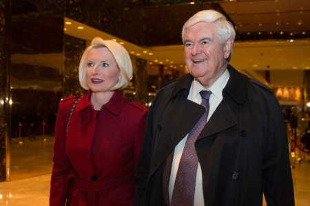 Callista Gingrich awaits nomination to Vatican ambassadorship