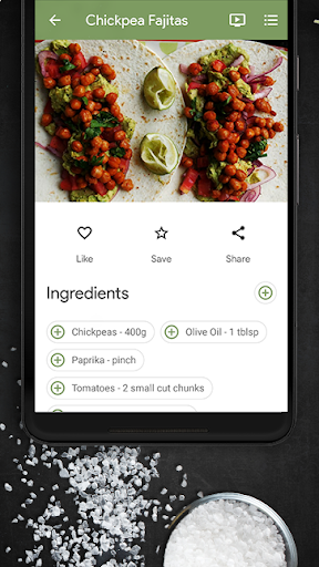 Recipes Home screenshot 6