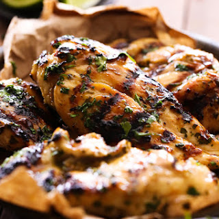 Cilantro Lime Grilled Chicken.