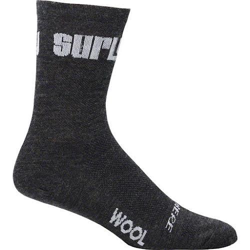 "Surly Logo 5"" Wool Socks"