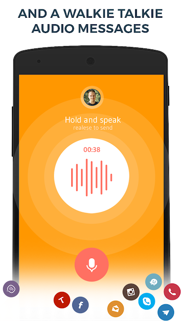 #5. Contacts Phone Dialer: drupe (Android)