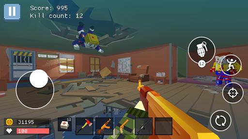 Pixel Combat: World of Guns 1.4 screenshots 1