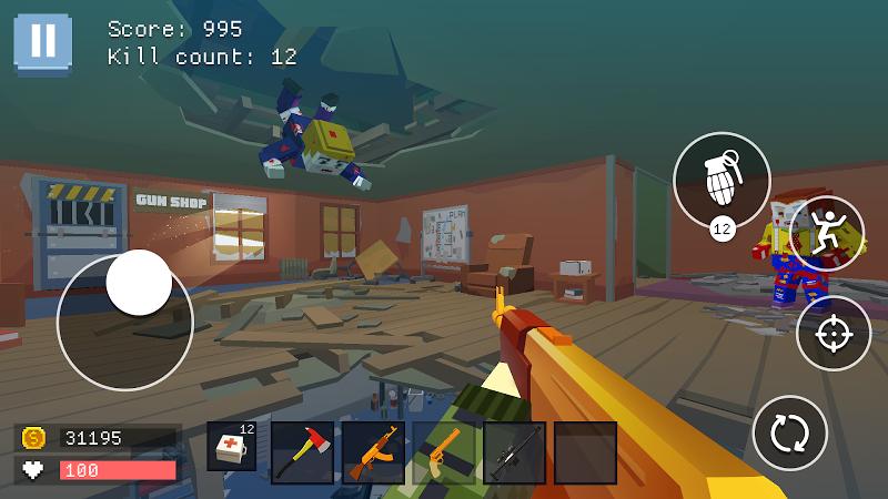 Pixel Combat: World of Guns Screenshot 0