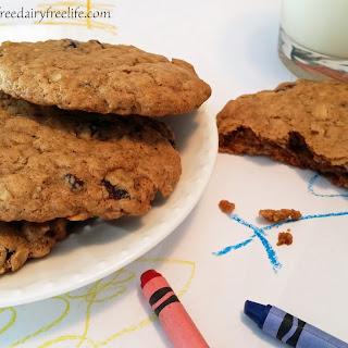 Oatmeal Raisin Cookies Dairy Free Recipes