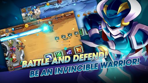 Castle Defender: Hero Shooter - Idle Defense TD apkmind screenshots 2