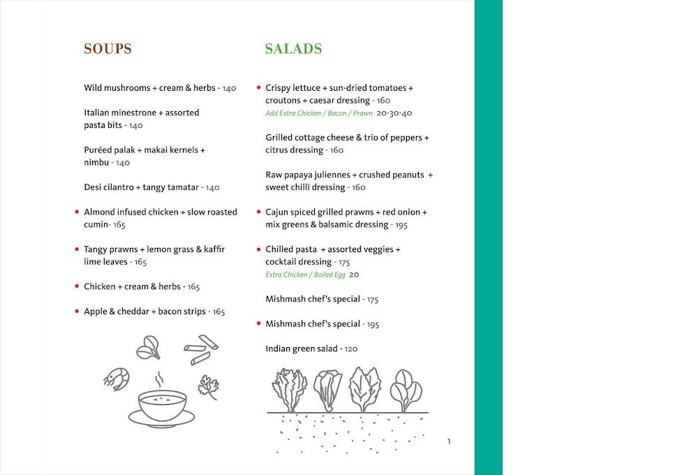 Mishmash menu 1