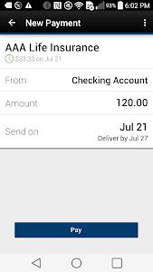 Tyndall e-Banking screenshot 3