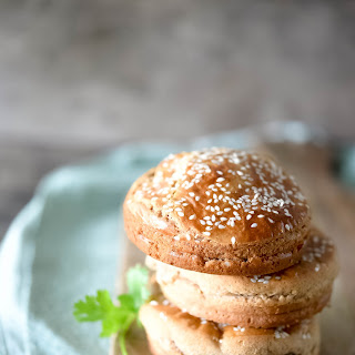 Paleo Sandwich Bun (Paleo Hamburger Bun) Recipe from the Ditch the Wheat Cookbook