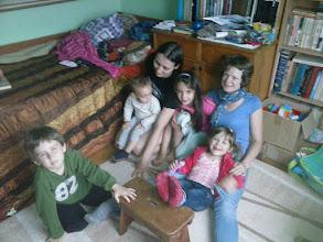 Photo: ritka pillanatok egyike Zsolti rokonáéknál