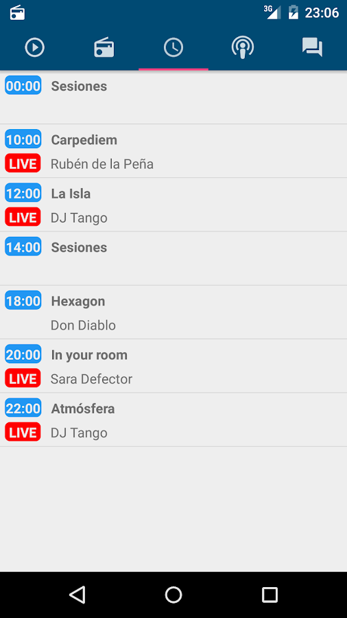 laisla.fm- screenshot