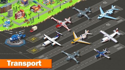 Télécharger Gratuit Plane City APK MOD (Astuce) screenshots 1
