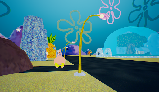 Bikini-Bottom in 3D (Sponge Bob) 1 screenshots 3