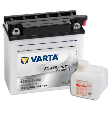Varta MC Batteri 12N5,5A-3B