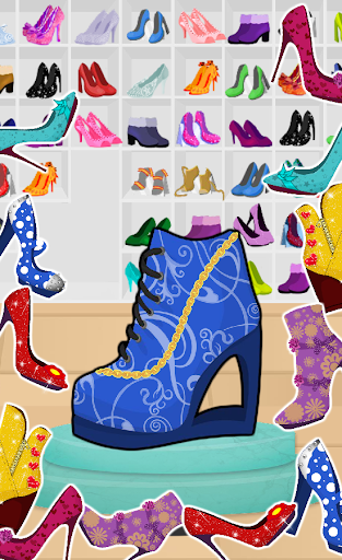 High Heels Shoe Designer apkmr screenshots 1