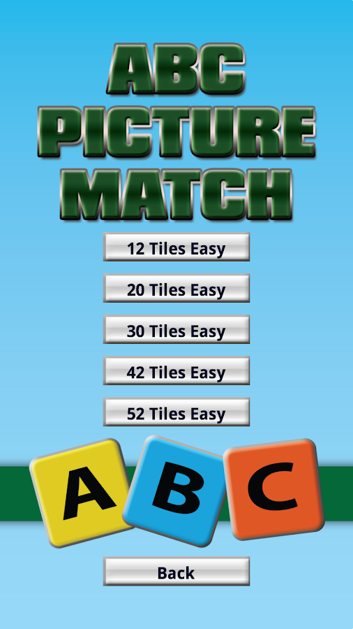 ABC Picture Match- screenshot