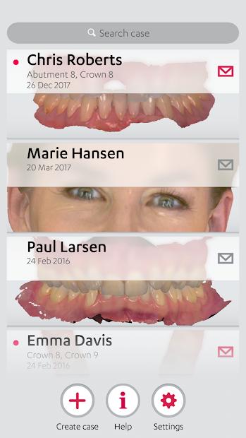 3Shape Communicate Android App Screenshot