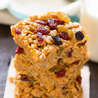No-Bake Breakfast Cereal Bars