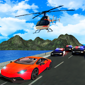 Cops Car Chase Games 2018: Thief Run 3D Simulator