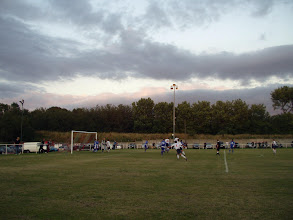 Photo: 26/08/05 - Ground photo from the Abbey Stadium - contributed by Mike Latham